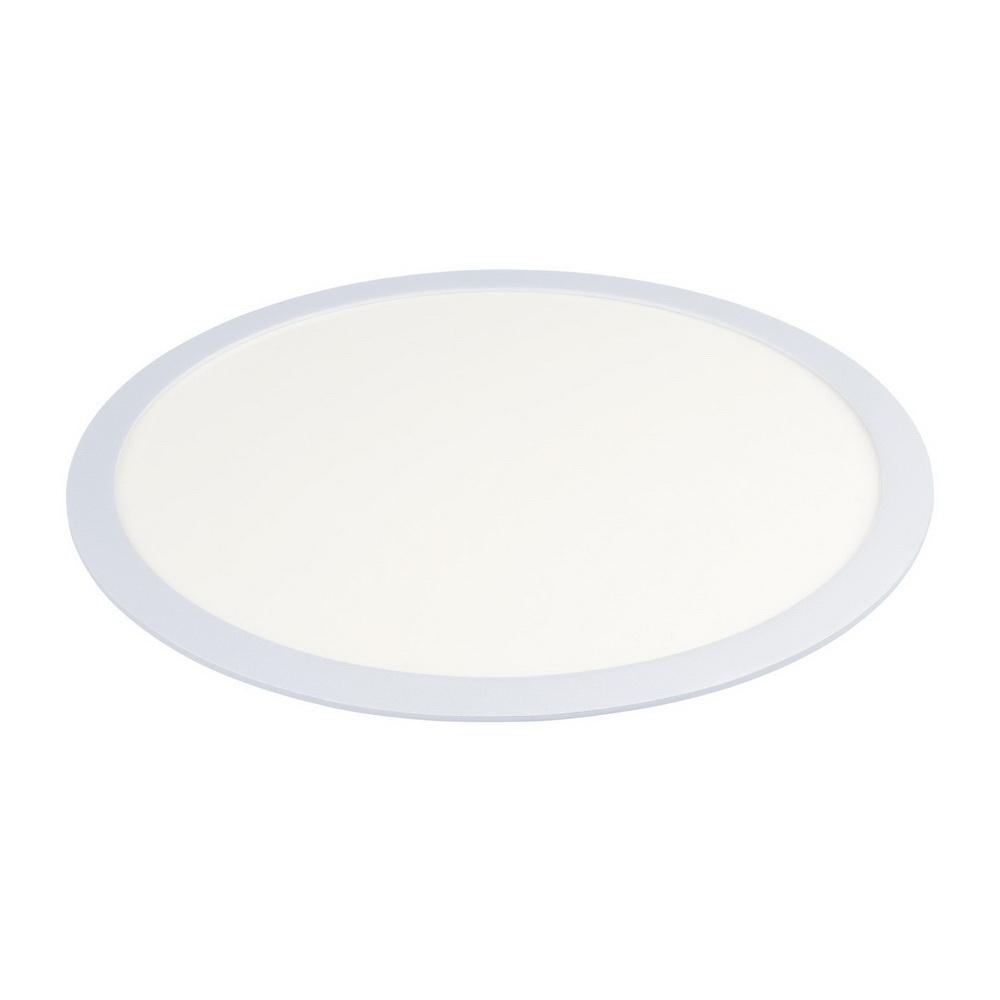все цены на  Светильник встраиваемый Uniel Ulp-q201 r300-24w/nw white  онлайн