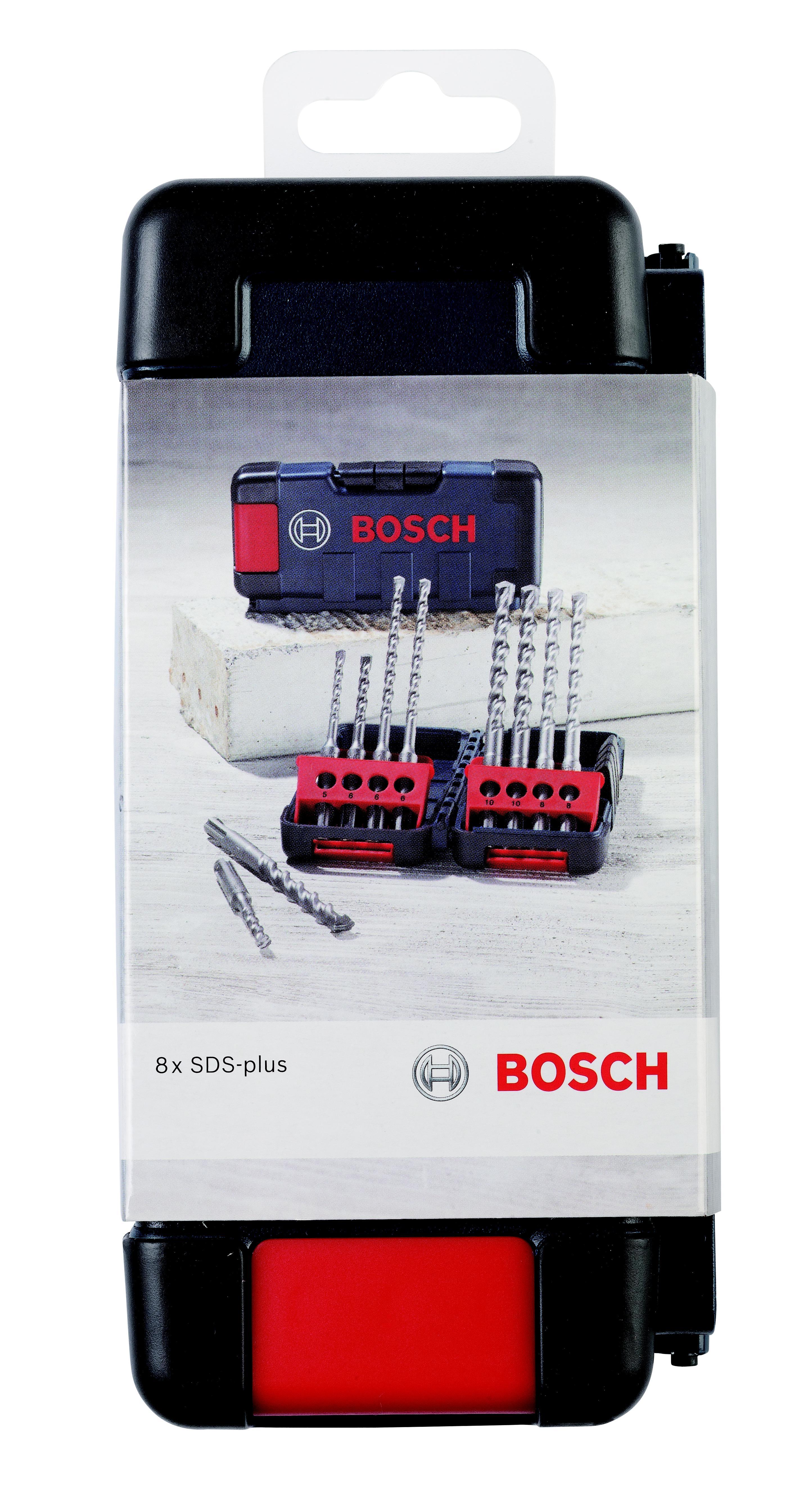 Набор буров Bosch Sds+ (2607019902) набор буров для перфоратора bosch sds plus 7x 5 10 мм 5 шт 2608576199