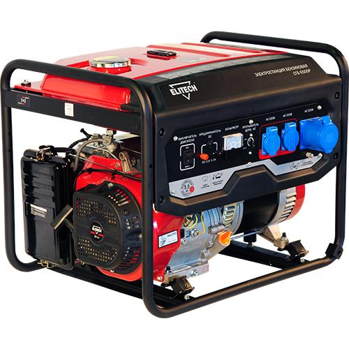 Бензиновый генератор Elitech СГБ 6500Е  генератор бензиновый elitech сгб 6500 р