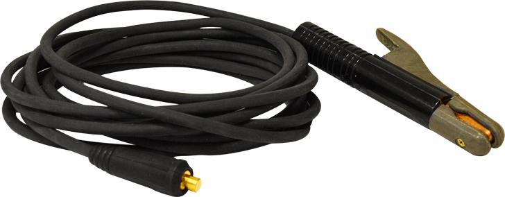 Кабель сварочный БАРС СКР-25 3м зажим кабель