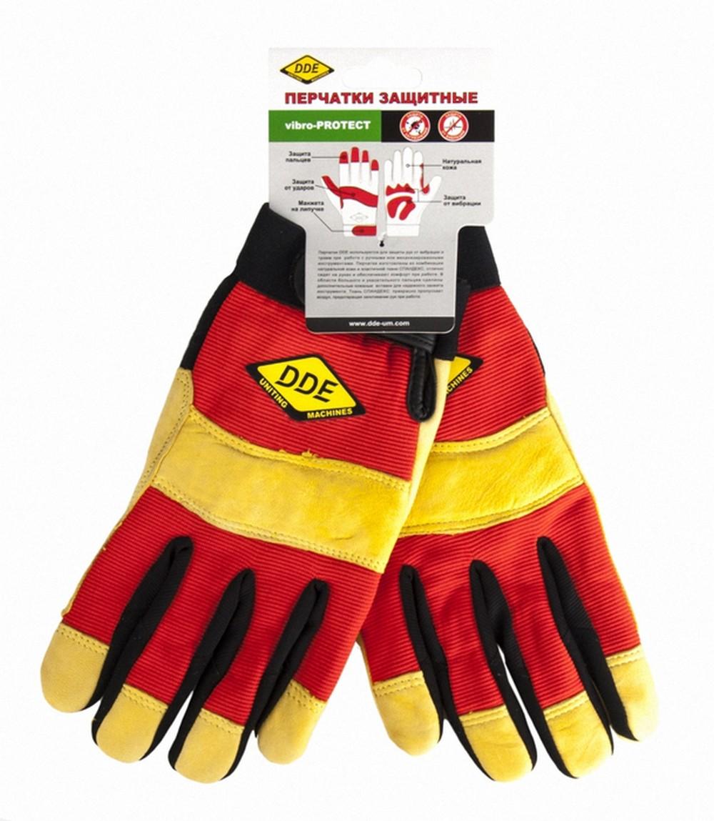 Перчатки Dde Vibro-protect головка dde гм 80