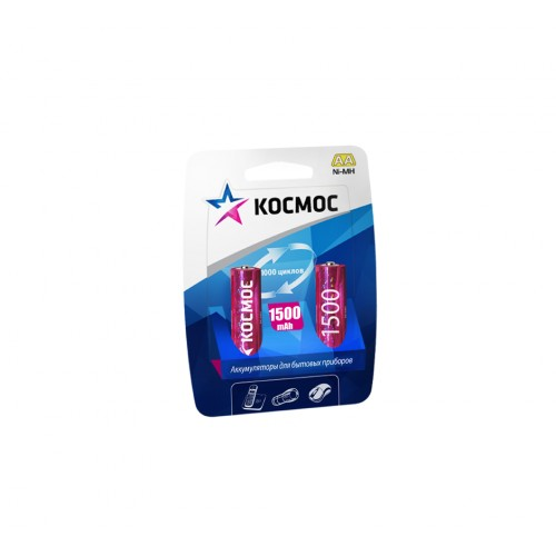 Аккумулятор КОСМОС Kocr6nimh(1500ma) аккумулятор космос kocr03nimh 1100mah