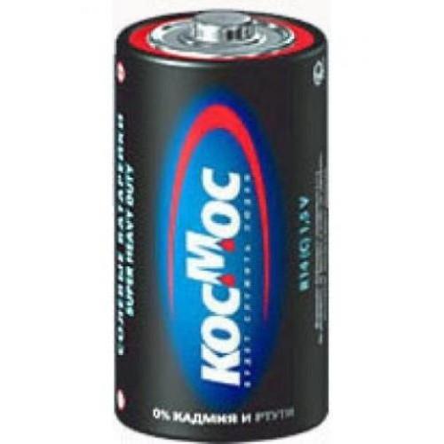Батарейка КОСМОС R14 батарейка космос koclr6 24box