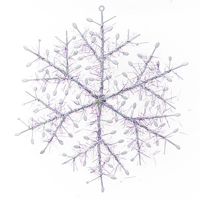 Набор украшений Lunten ranta Пушистая снежинка 66321 гирлянда электрическая lunten ranta легенда 40 светодиодов 4 м