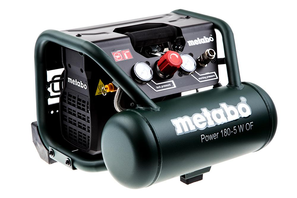 Компрессор Metabo Power 180-5 w of (601531000) компрессор metabo power 250 10 w of 601544000