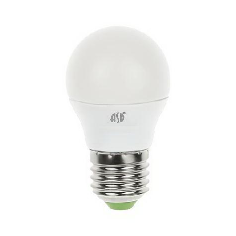 Лампа светодиодная Asd Led-ШАР-standard 3.5Вт 160-260В Е27 4000К лампа светодиодная asd led свеча standard 7 5вт 160 260в е14 4000к