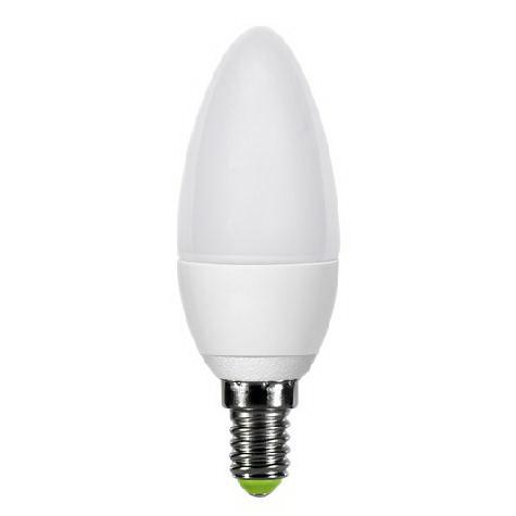 Лампа светодиодная Asd Led-СВЕЧА-standard 5.0Вт 160-260В Е14 3000К лампа светодиодная asd led свеча standard 5 0вт 160 260в е27 4000к