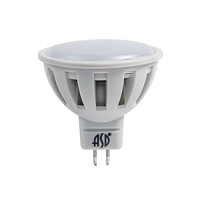 Лампа светодиодная Asd Led-jcdr-standard 7.5Вт 160-260В gu5.3 3000К