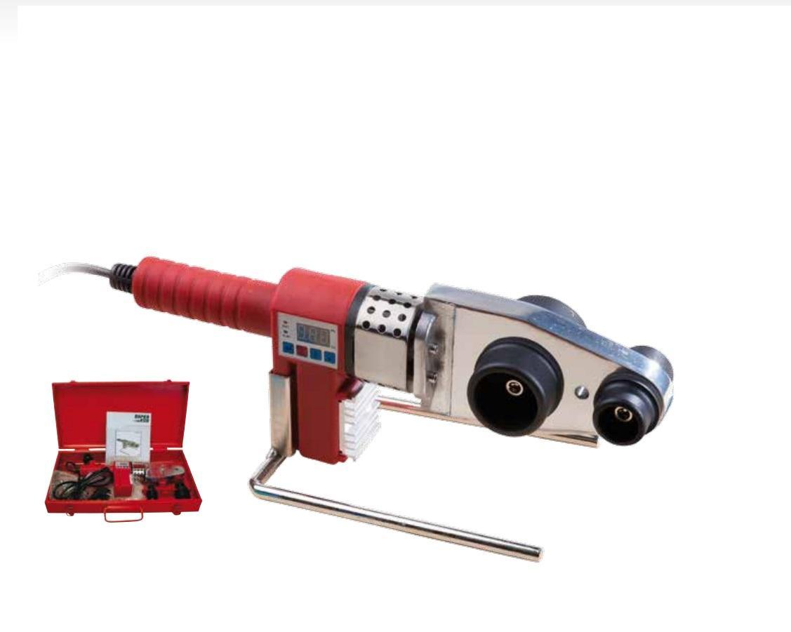 Аппарат для сварки пластиковых труб Super-ego 1500000447 аппарат для сварки полипропиленовых труб bort brs 2000