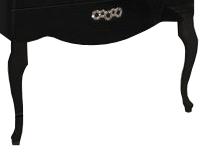 Ножки АКВАТОН 1a155403xx950 акватон мебель для ванной акватон венеция 75 черная