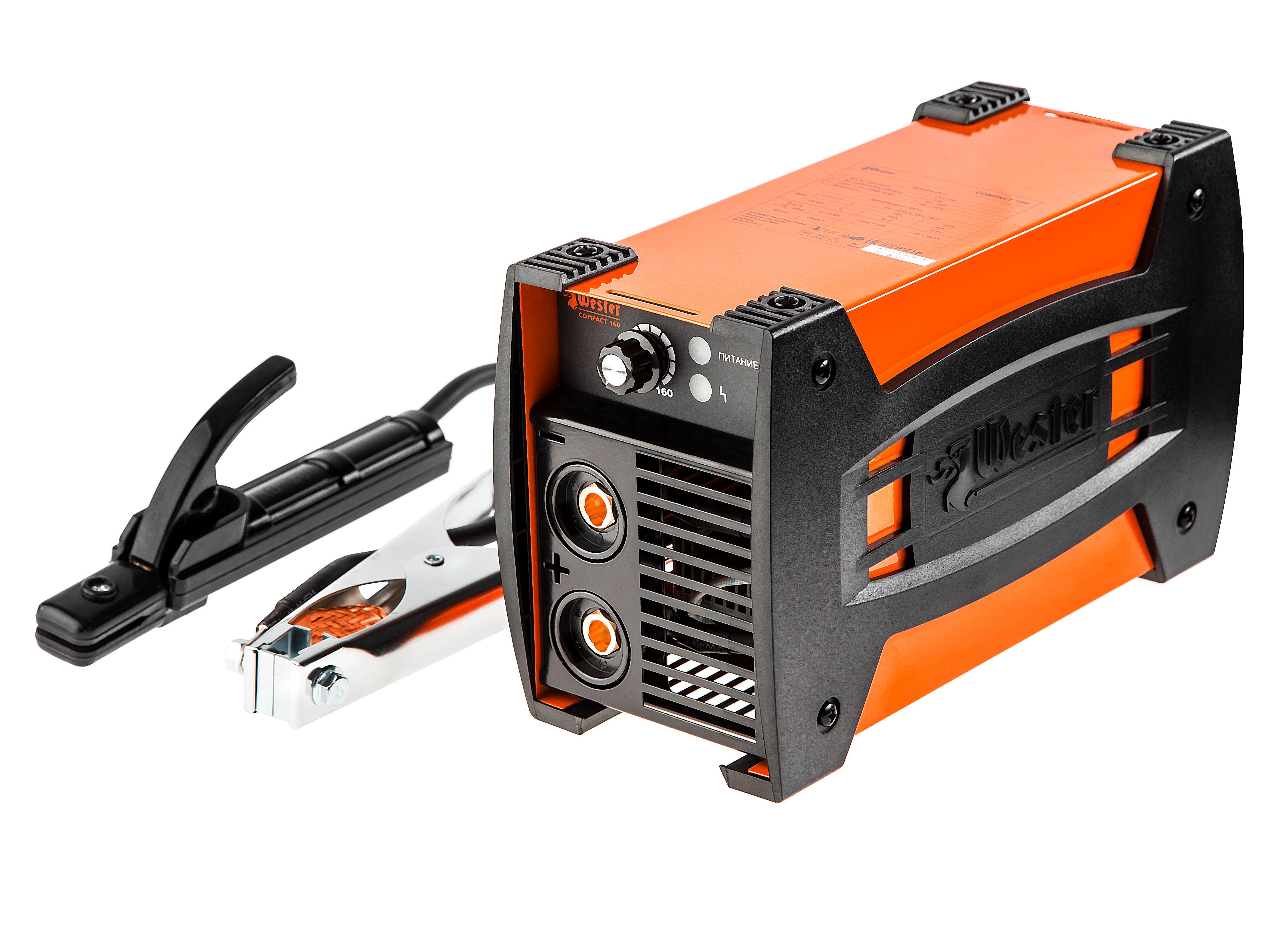 Сварочный аппарат Wester Compact 160 сварочный аппарат инверторный wester mma vrd 160