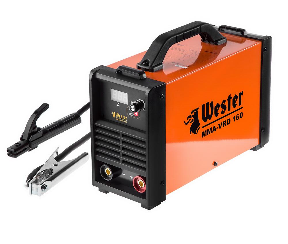 Сварочный аппарат Wester Mma-vrd 160 сварочный аппарат инверторный wester mma vrd 160