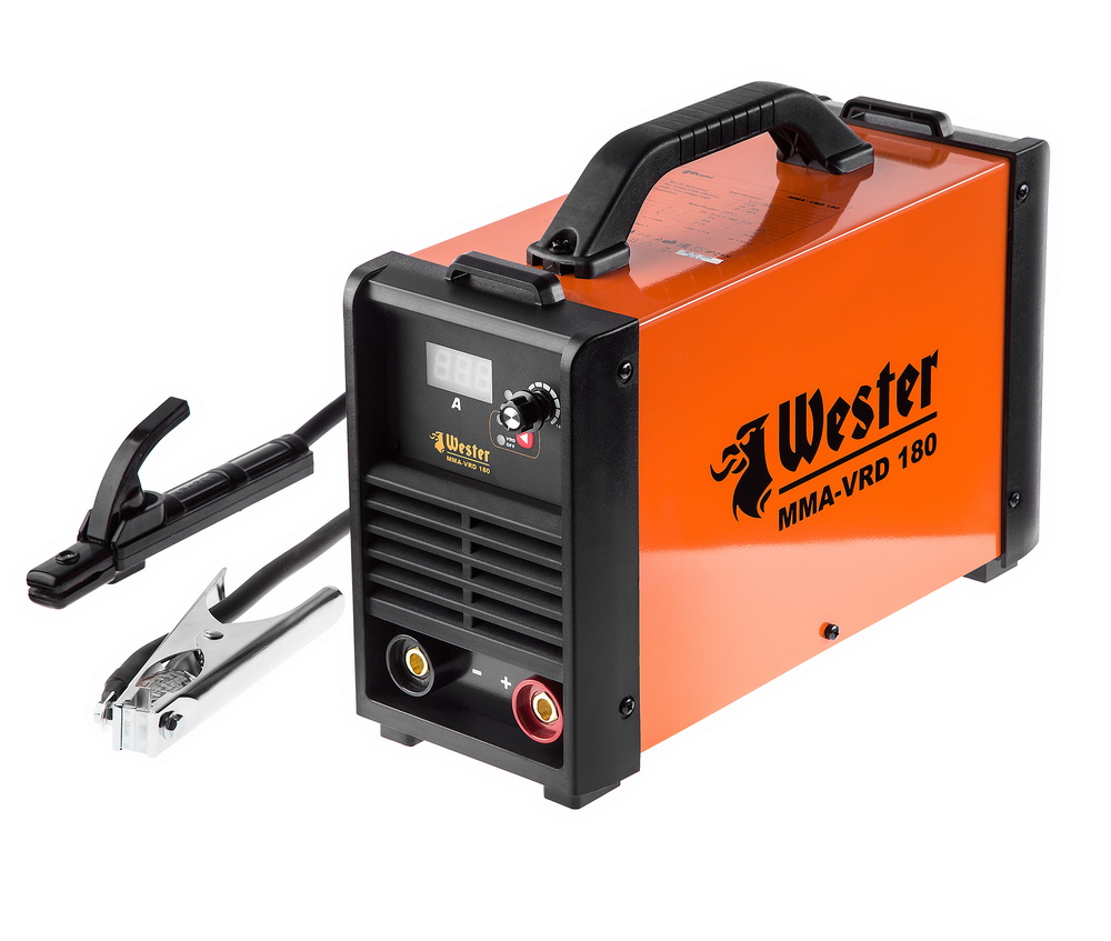 Сварочный аппарат Wester Mma-vrd 180 сварочный аппарат инверторный wester mma vrd 160