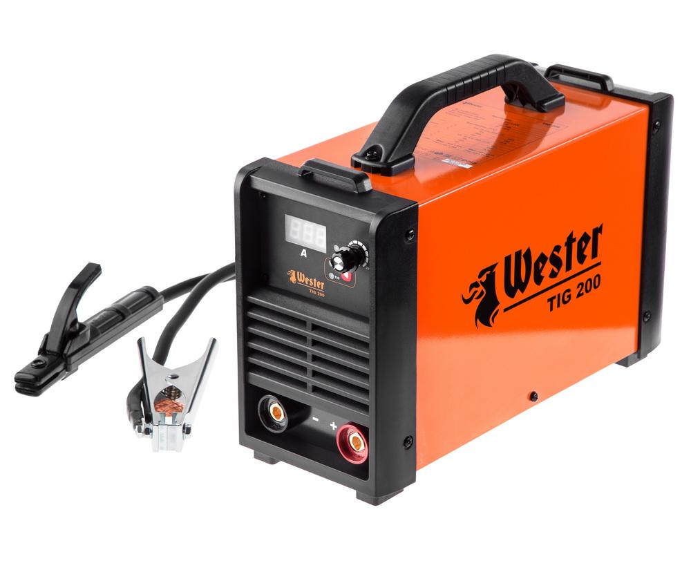 Сварочный аппарат Wester Tig 200 сварочный аппарат сварог pro tig 200 p dsp w212