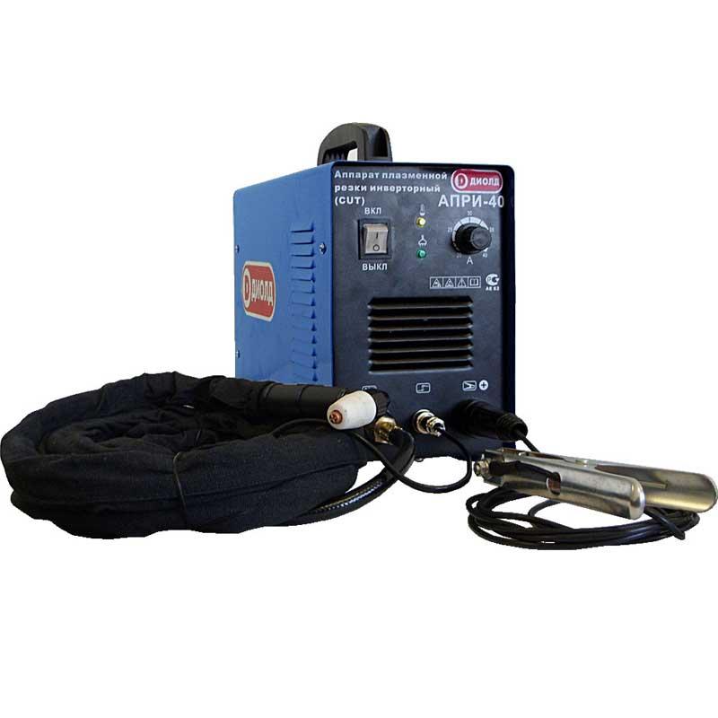 Аппарат плазменной резки ДИОЛД АПРИ-40 аппарат воздушно плазменный резки кедр cut 40 b