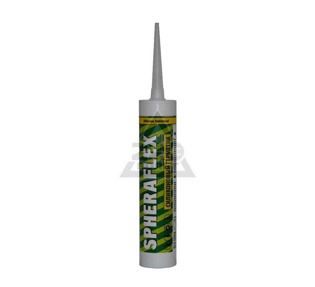 Герметик SPHERAFLEX силиконовый универсальный белый 300 мл