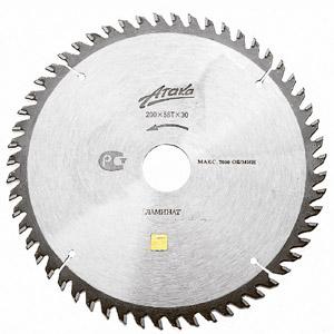 Диск пильный твердосплавный АТАКА 8078330 диск пильный твердосплавный hammer 335х32 30мм 64 зуб