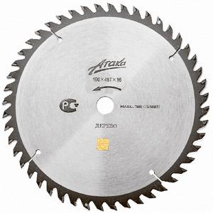 Диск пильный твердосплавный АТАКА 8078530 диск пильный твердосплавный hammer 335х32 30мм 64 зуб