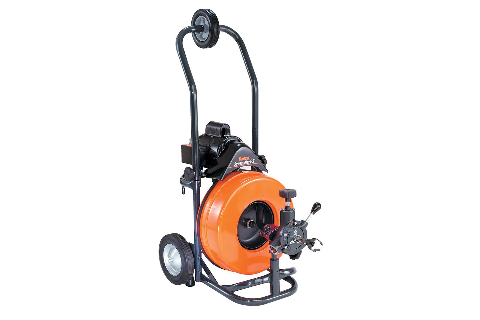 Прочистная машина General pipe P-Т3-А прочистная машина посейдон вна б 210 10а