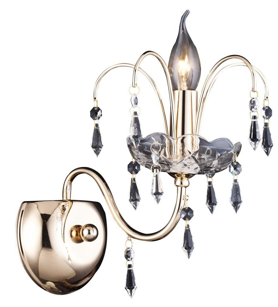 Бра Arte lamp Sparkles a3054ap-1go люстра arte lamp sparkles a3054lm 8go