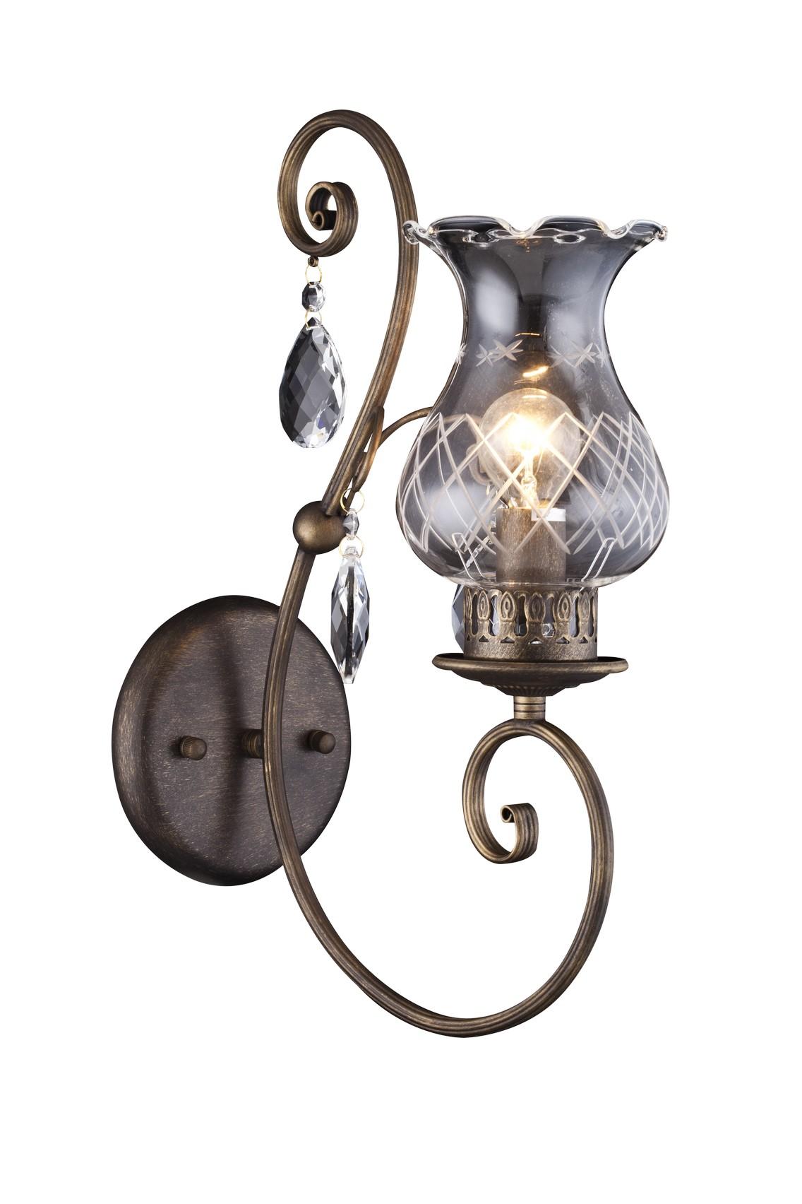 Бра Arte lamp Palermo a2053ap-1br бра 8111 01 ap 1 divinare