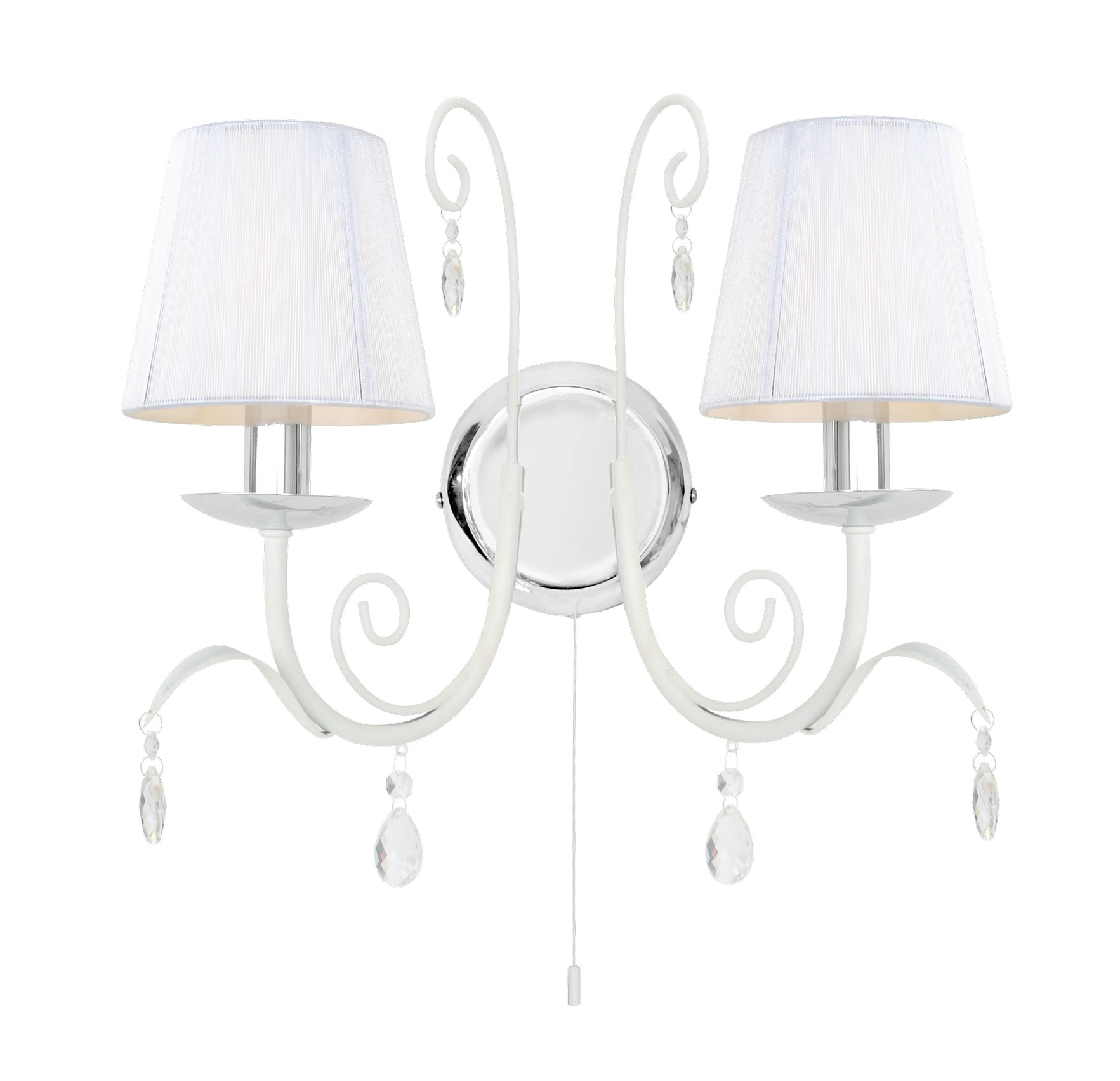 Бра Arte lamp Romana snow a1743ap-2wh мягкие кресла romana пуфик макака
