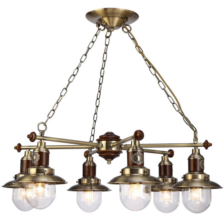 Люстра Arte lamp Sailor a4524lm-6ab arte lamp a4524lm 3ab