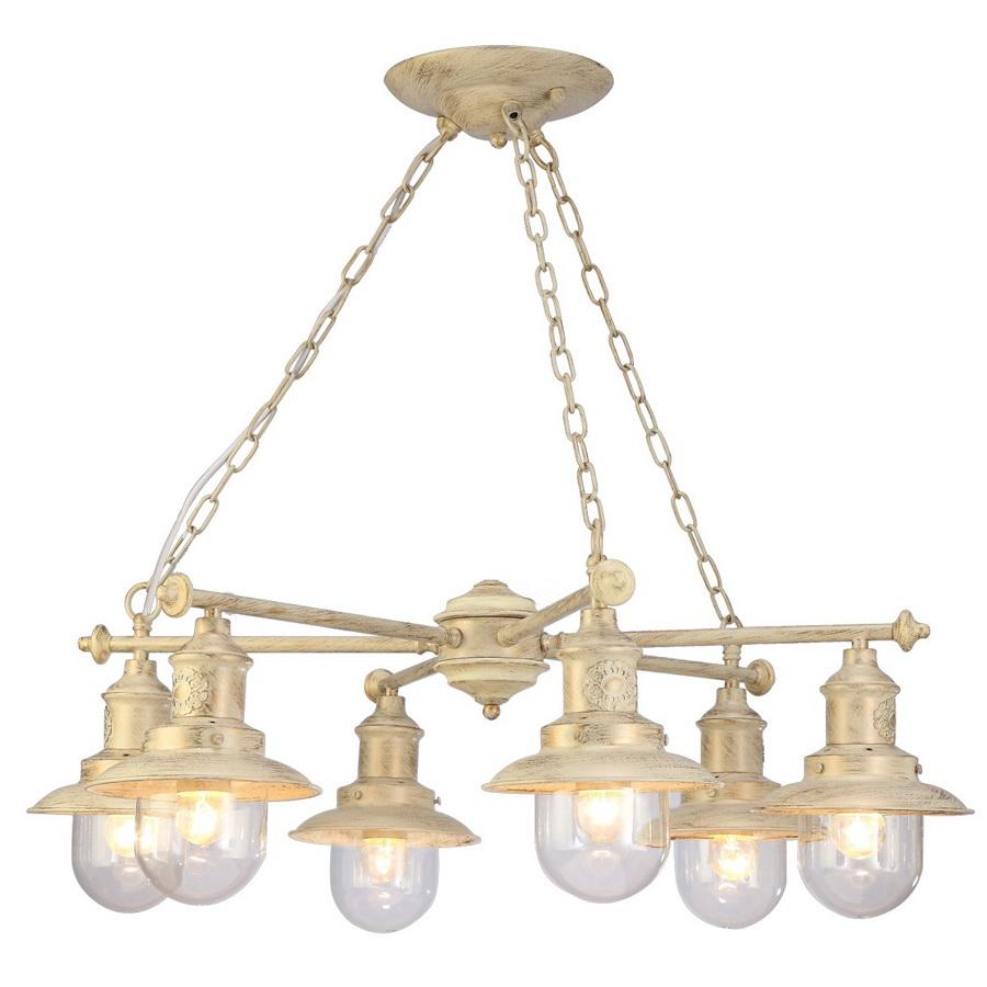Люстра Arte lamp Sailor a4524lm-6wg arte lamp a4524lm 3ab