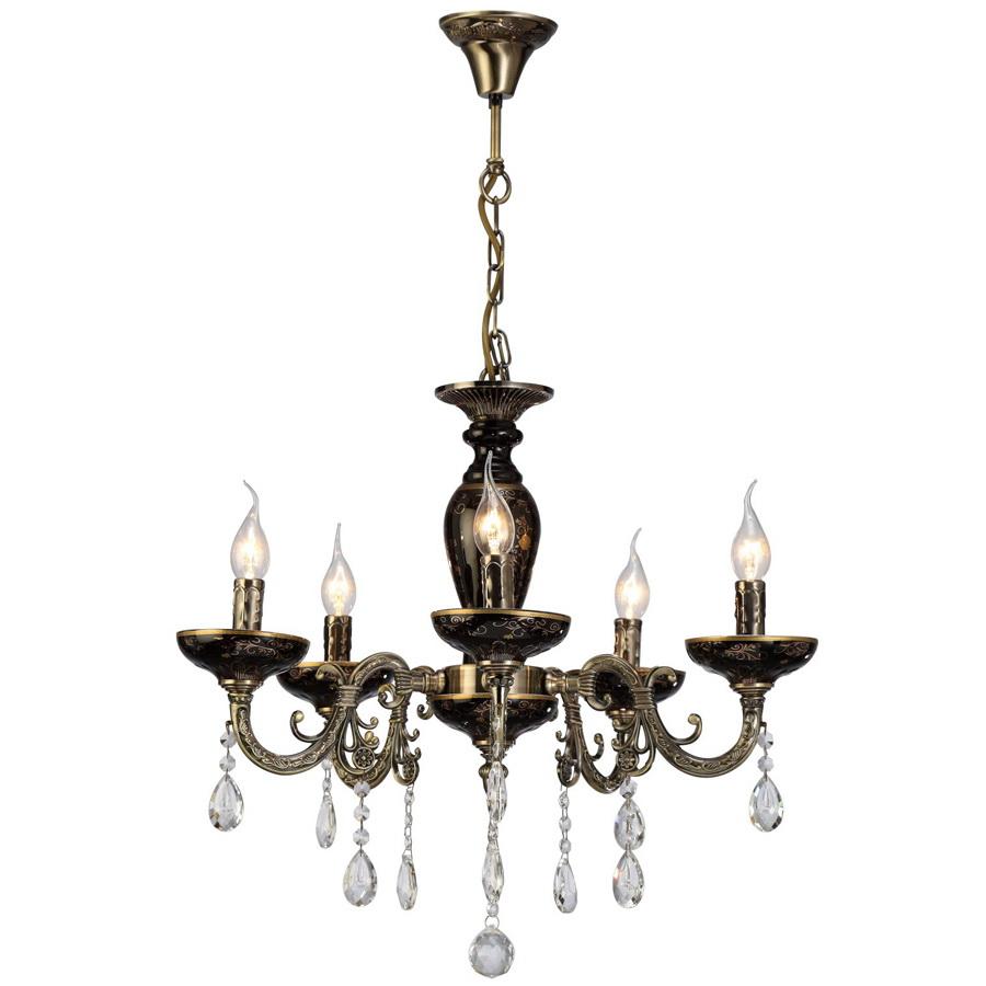 Люстра Arte lamp Dubai a5335lm-5ba бра arte lamp dubai a5335ap 1ba
