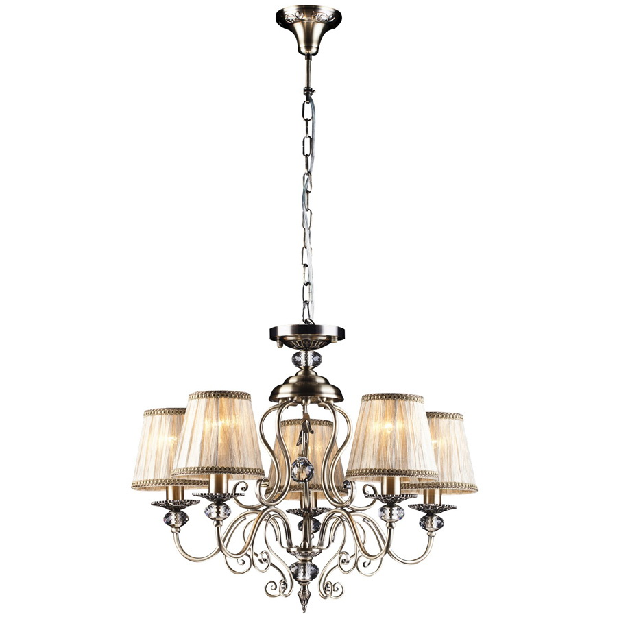 Люстра Arte lamp Charm a2083lm-5ab обои виниловые флизелиновые erismann charm 3504 5