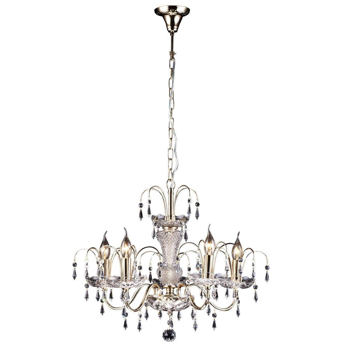 Люстра Arte lamp Sparkles a3054lm-5go люстра arte lamp sparkles a3054lm 8go