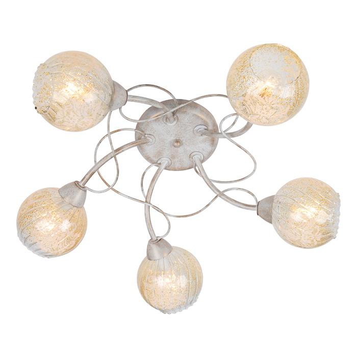 Люстра Arte lamp Gemma a6347pl-5wg arte lamp gemma a6336pl 5wg