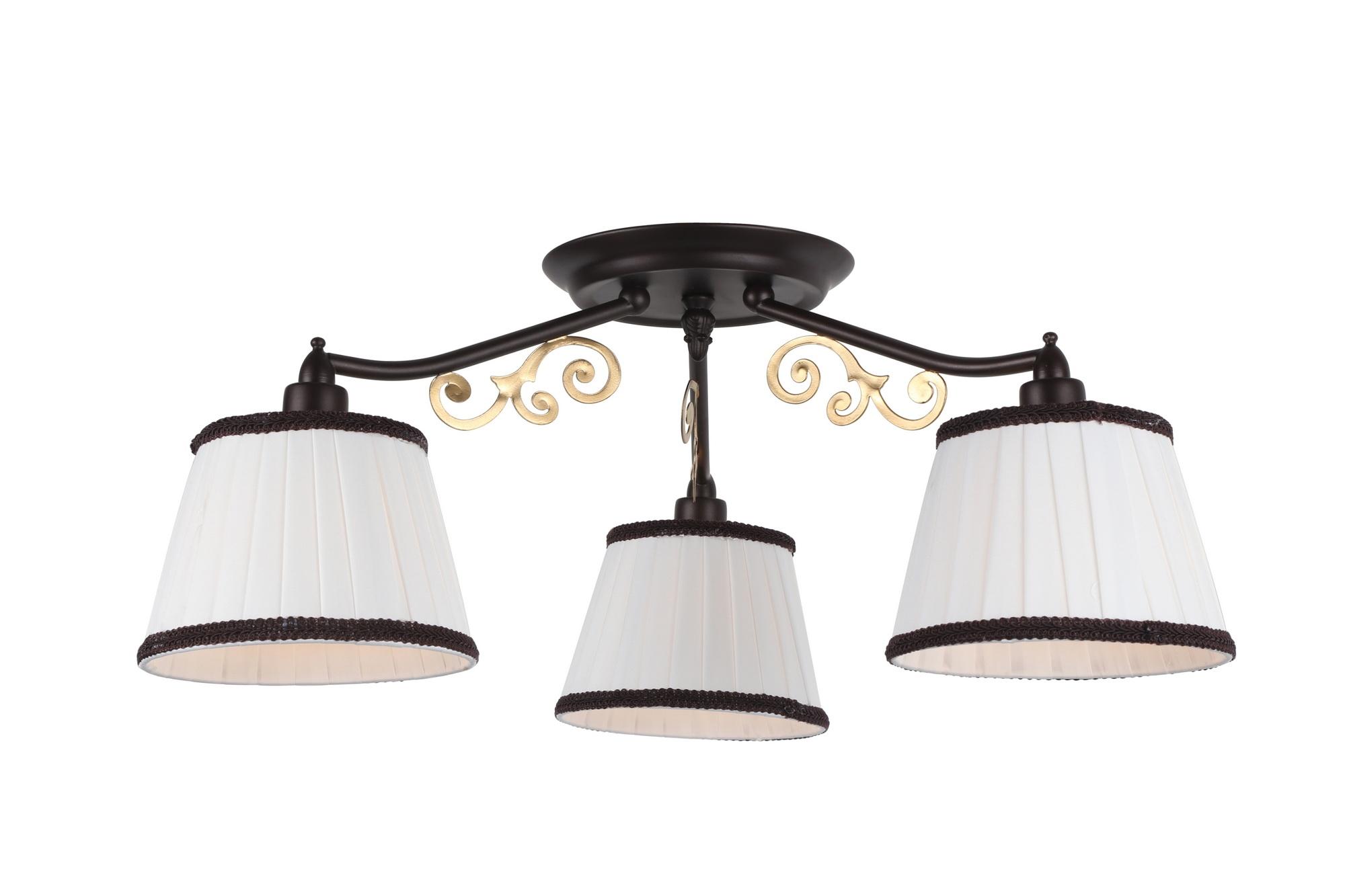 Люстра Arte lamp Capri a6344pl-3br ювелирное изделие 6344