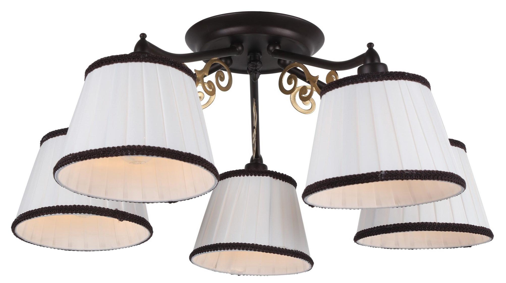 Люстра Arte lamp Capri a6344pl-5br