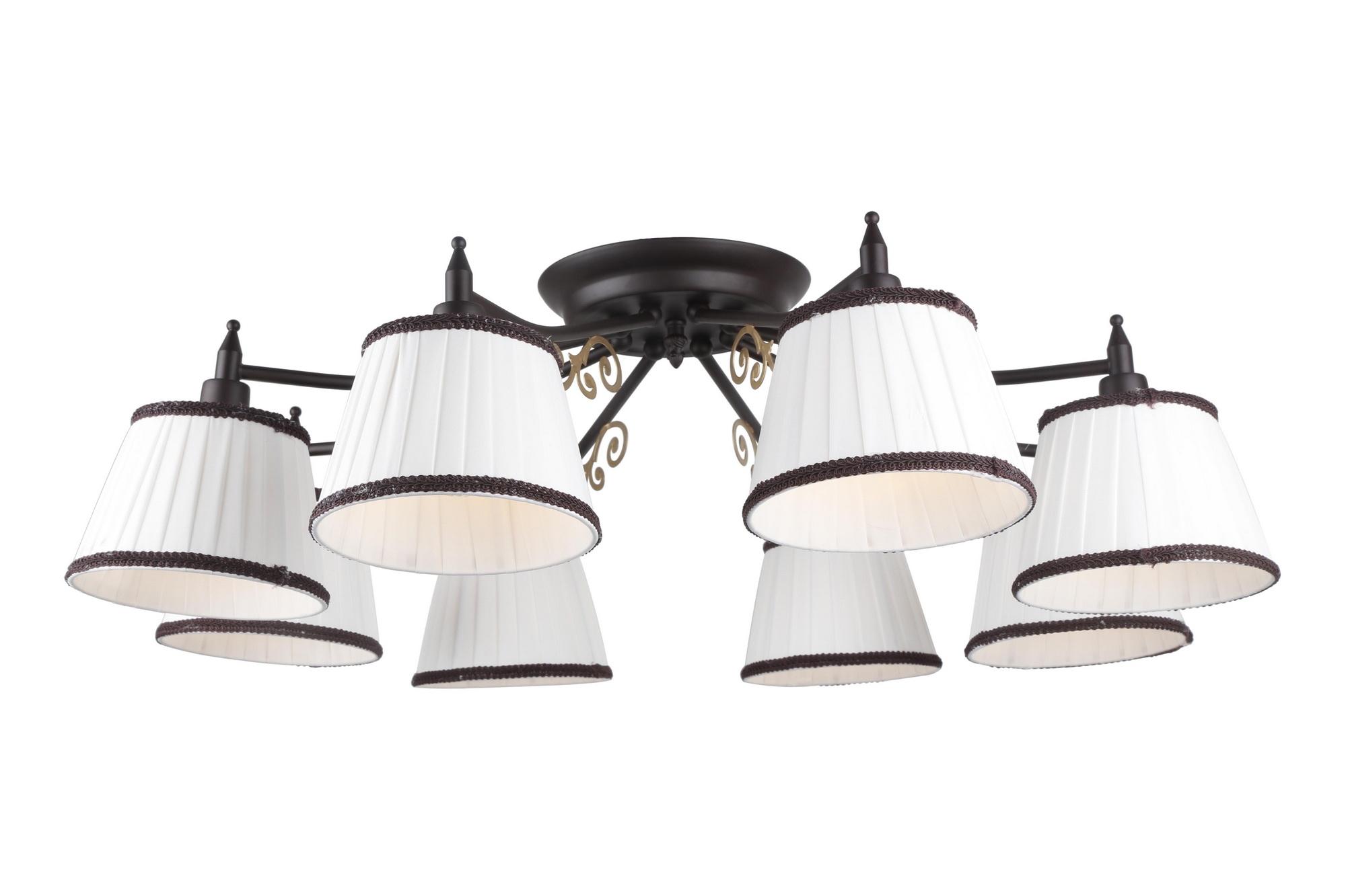 Люстра Arte lamp Capri a6344pl-8br ювелирное изделие 6344