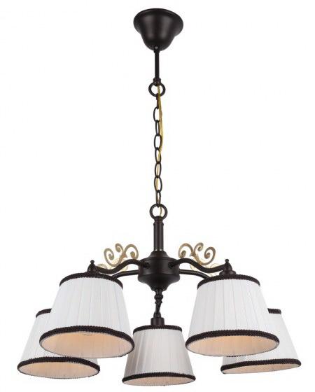 Люстра Arte lamp Capri a6344lm-5br ювелирное изделие 6344