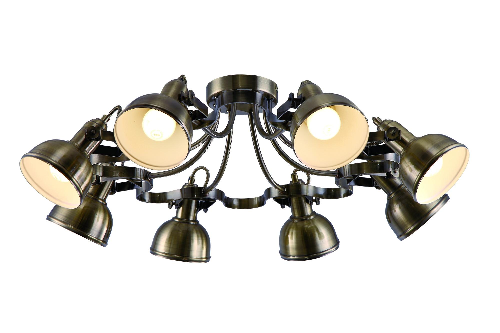 все цены на Люстра Arte lamp Martin a5216pl-8ab онлайн