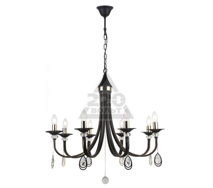 Люстра ARTE LAMP FAENZA A8540LM-8BK