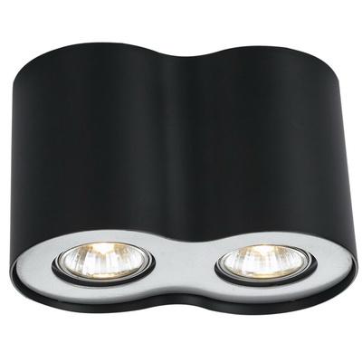 Светильник встраиваемый Arte lamp Falcon a5633pl-2bk накладной светильник arte lamp falcon a5633pl 3bk