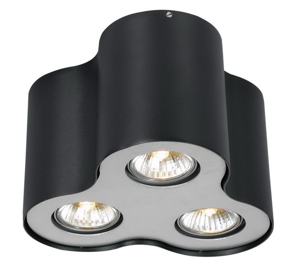 Светильник встраиваемый Arte lampСветильники встраиваемые<br>Стиль светильника: хай-тек,<br>Форма светильника: круг,<br>Материал светильника: металл,<br>Количество ламп: 3,<br>Тип лампы: галогенная,<br>Мощность: 50,<br>Патрон: GU10,<br>Цвет арматуры: черный<br>
