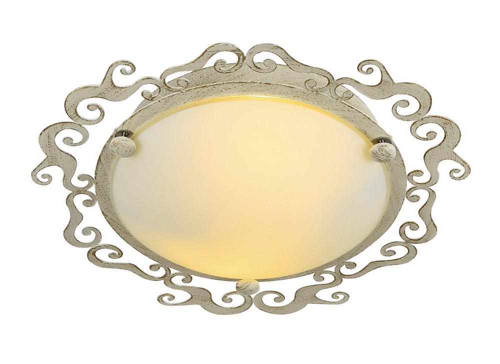 Светильник настенно-потолочный Arte lamp Riccioli a1060pl-2wg arte lamp потолочный светильник arte lamp riccioli a1060pl 3wg