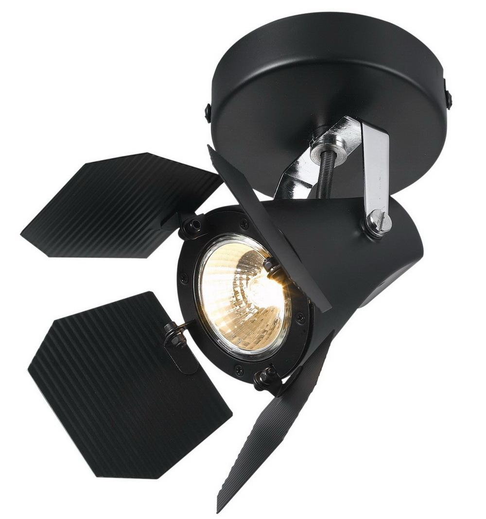 Спот Arte lamp Cinema a3092ap-1bk спот arte lamp cinema a3092ap 1bk