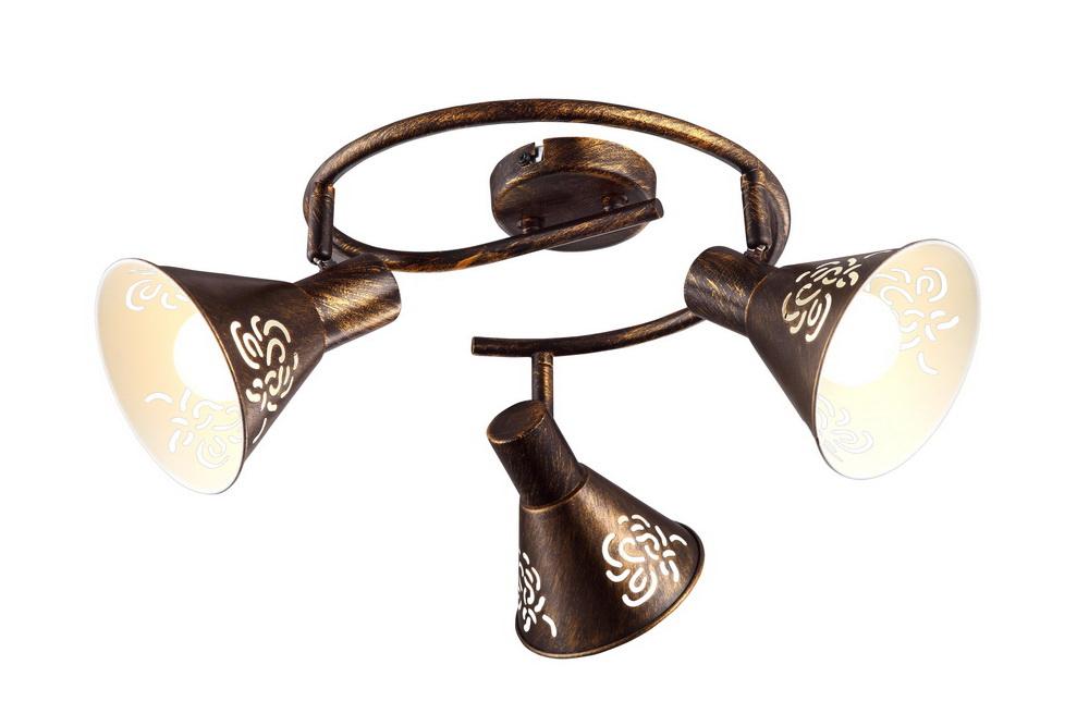 Спот Arte lamp Cono a5218pl-3br цена 2017