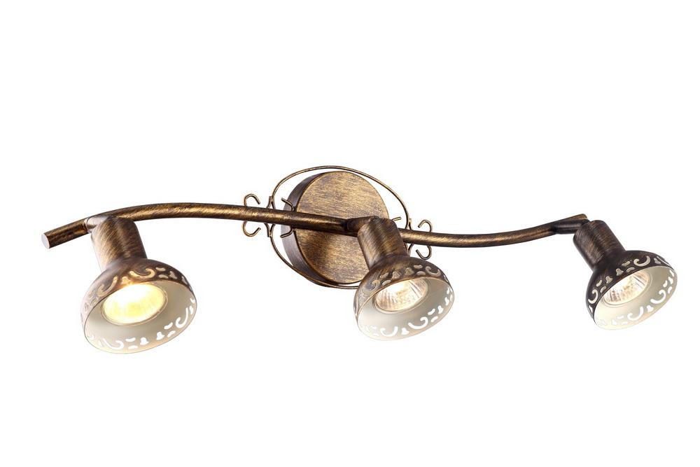 Спот Arte lamp Focus a5219pl-3br спот точечный светильник arte lamp focus a5219pl 3wg