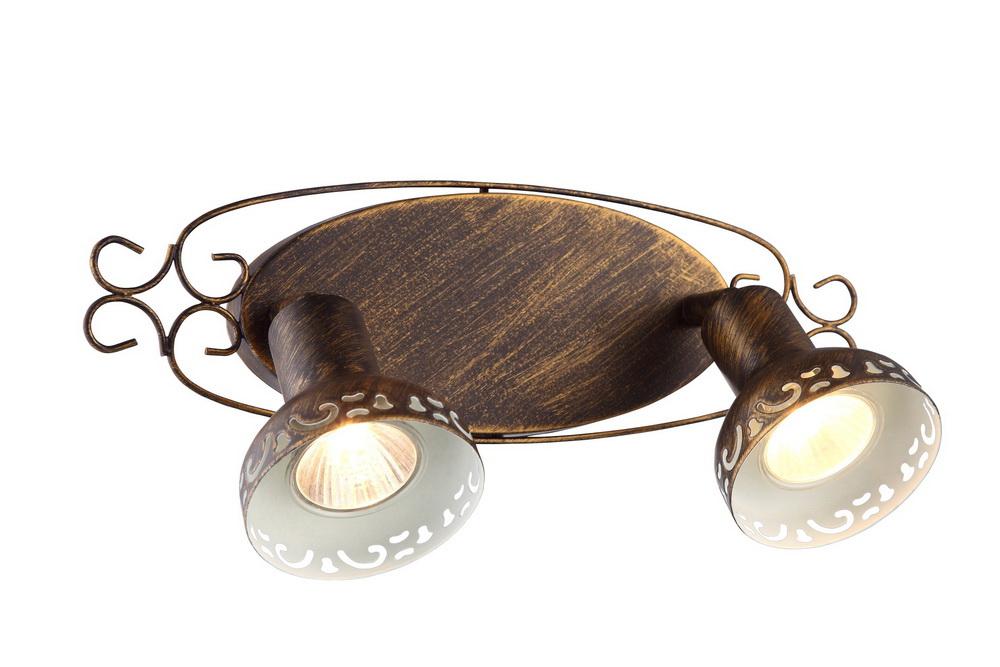 купить Спот Arte lamp Focus a5219ap-2br по цене 2850 рублей