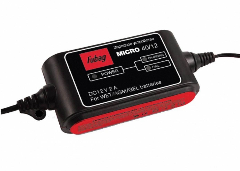 Зарядное устройство Fubag Micro 40/12 устройство fubag micro 40 12