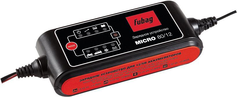 Зарядное устройство Fubag Micro 80/12 устройство fubag micro 40 12
