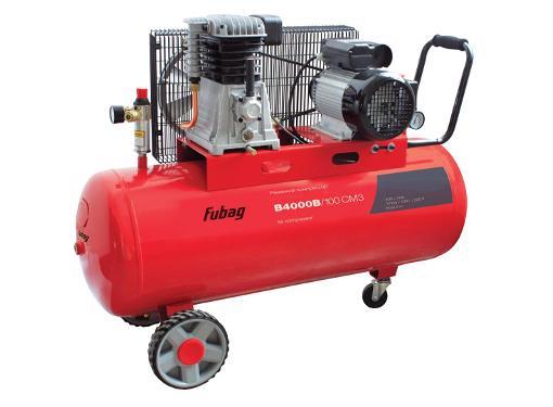 Поршневой масляный компрессор FUBAG B4000B/100 СМ3