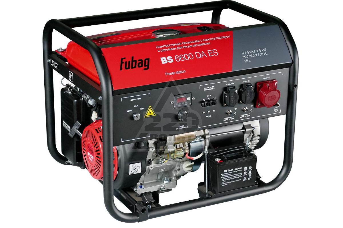 Бензиновый генератор fubag bs 6600 отзывы сварочные аппараты ewm фото