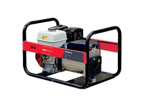 Бензиновый генератор FUBAG WHS 200 DC